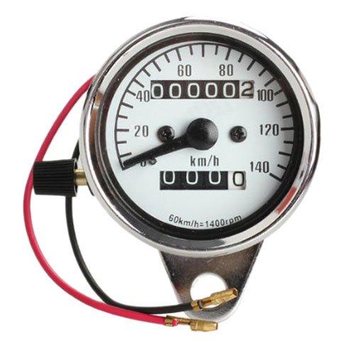 Motorcycle Electronic Speedometer - TOOGOOR Motorcycle Mini Electronic Speedometer with Odometer Night Light