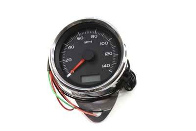 V-Twin 39-0789 80mm Mini Electronic Speedometer