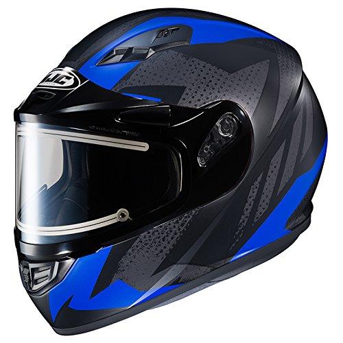 HJC CS-R3 Framed Electric Motorcycle Snowmobile Helmet Treague BlackBlue MC-2F 2X-Large More Size Options