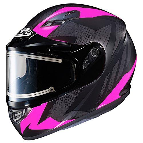 HJC CS-R3 Framed Electric Motorcycle Snowmobile Helmet Treague BlackPink MC-8F Small More Size Options
