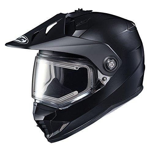 HJC DS-X1SN Snow Frameless Electric Motorcycle Snowmobile Helmet Matte Black Medium More Size Options