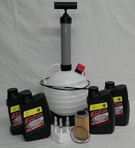 Sea Doo Oil Change Kit 4 Tec Four Stroke SeaDoo PWC GTX RXP RXT GTI With Ultimate Oil Pump