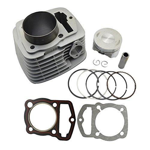 AHL Motorcycle Engine Cylinder Piston Kit for Honda CRF230 03-14 FTR223230 03-05