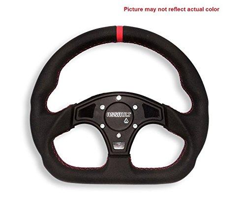 Assault Industries BlackBlack D-Shaped Steering Wheel Front Plate