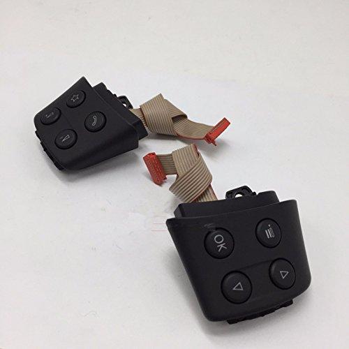 BoCID MFSW Multi-function Steering Wheel Switch Set For VW Golf Jetta MK5 Passat EOS 1K0 959 537 J REH 1K0 959 538 F REH