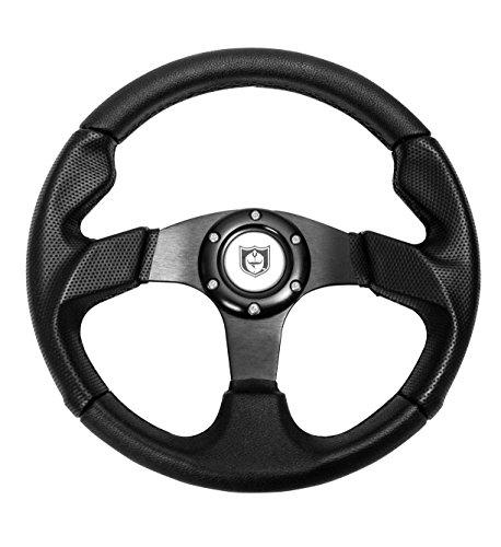 Pro Armor Force Circle 13 Black Steering Wheel P081275BL