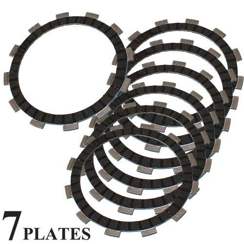 Caltric CLUTCH FRICTION PLATE Fits SUZUKI GS500F GS 500F GS-500F 2004-2010 7 FRICTION CLUTCH PLATES