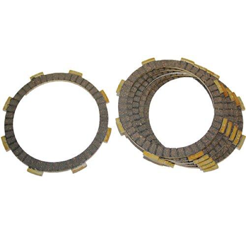 Caltric FRICTION CLUTCH PLATE Fits HONDA CMX250 CMX-250 CMX250C REBEL 250 CMX250C2 1985-2012 6-PLATES