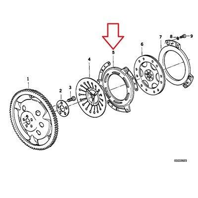 BMW Genuine Clutch Pressure Plate R1100GS R1100R R850 R1100RS R1100RT