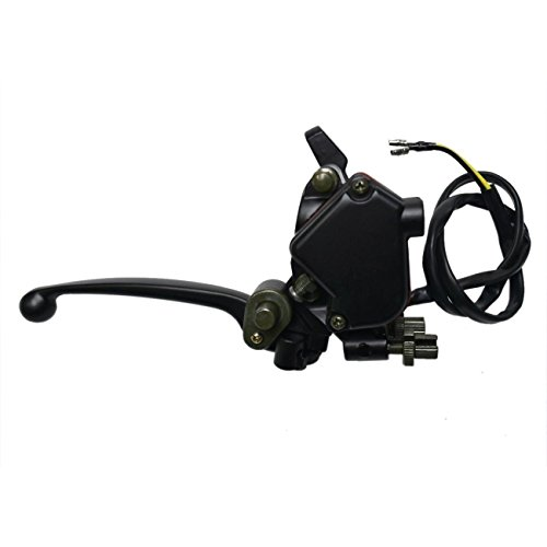ZXTDR Thumb Throttle Accelerator Assembly Handle Brake Lever for 50cc 110cc 125cc 150cc 250cc ATV Quad
