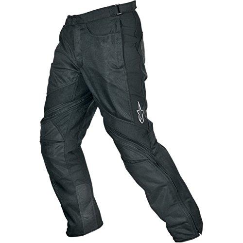 Alpinestars Air-Flo Mens Textile Street Motorcycle Pants - Black  Medium