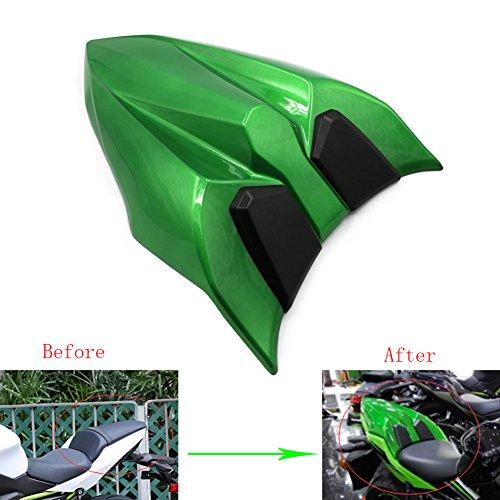 Alpha Rider Motorcycle Green Seat Cowl Rear Tail Cover Passenger Rubber Pad for Kawasaki Ninja650 2017 Ninja 650 Z 650 Z650 2017