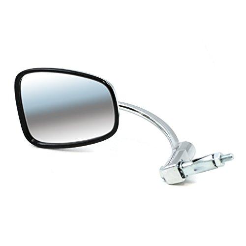 British Triumph Style Bar End Mirror - Chrome