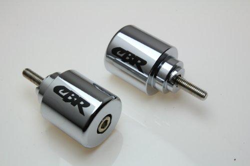 HONDA CB599 CBR600 F1 F2 F3 F4 F4i CBR600RR VFR800 CB919 900RR Chrome BAR ENDS