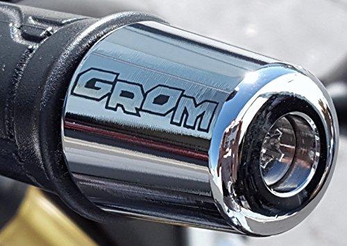 i5 Chrome Bar Ends for Honda Grom