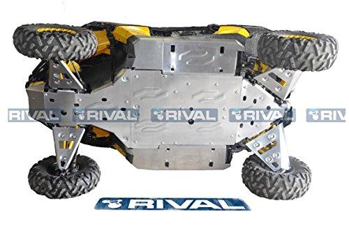 Skid plate kit for BRP Can-Am Maverick 1000 2013-2016