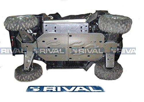 Skid plate kit for Polaris RZR 800
