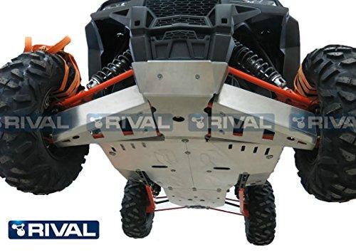 Skid plate kit for Polaris RZR XP 1000