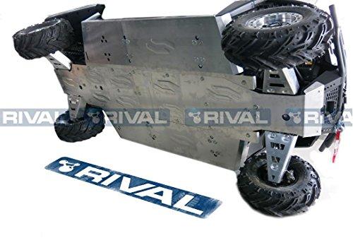 Skid plate kit for Polaris Ranger 800 Crew