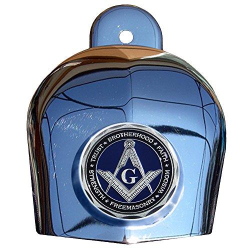 MotorDog69 Masonic Harley Horn Cover Coin Mount Set…