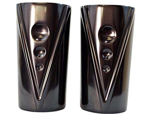 Trask Performance TM-085BK V-Line Fork Tube Covers - Black