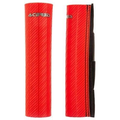 Acerbis Upper Fork Guards Red for Husaberg FXE600 2000