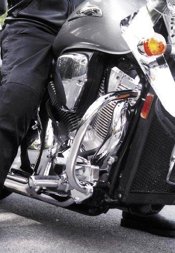 National Cycle P4011 Paladin Chromed Steel Highway Bars for 2003-2009 Honda VTX