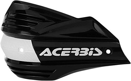 ACERBIS 2393480001 HANDSHIELDS X-FACTOR BK