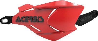 Acerbis 2634661018 X-Factory Handguards - RedBlack