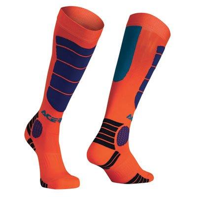 Acerbis MX Impact Socks LargeX-Large OrangeBlue
