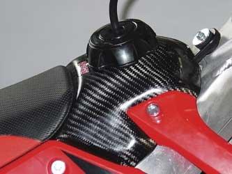 LightSpeed Carbon Fiber Fuel Tank Cover 082-00340