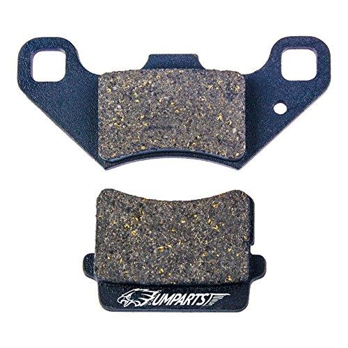 DP1 UMPARTS Rear Disc Brake Pad Shoes for Coolster ATV-3125XR-8 ATV3125XR8 ATV 3125XR8