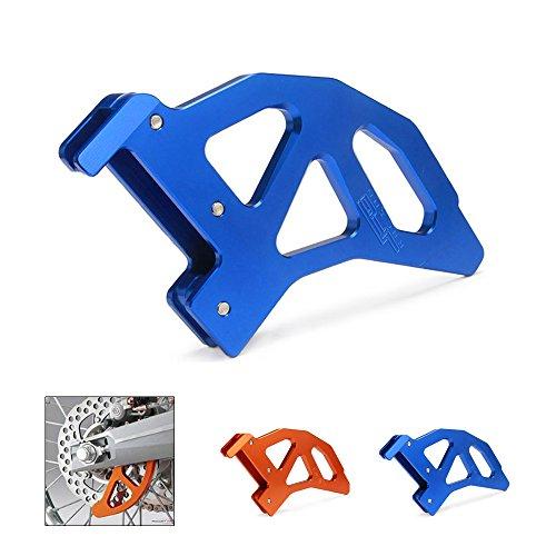 JFG RACING Blue CNC Aluminum Rear Disc Brake Cover Guard Protector For KTM SX EXC XC XCW SXF XCF XCF-W EXC-F EXCR 125-540 TE125 TE250 TE300 Husqvarna Motorcycle Dirt Pit Bike