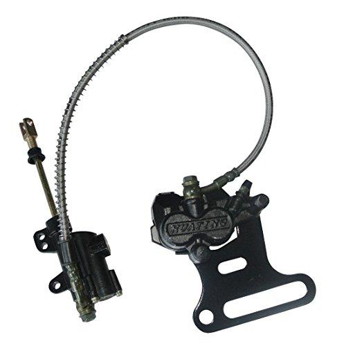 JRL Hydraulic Rear Disc Brake Caliper System Pad For 70cc-200cc PIT PRO Dirt Bike