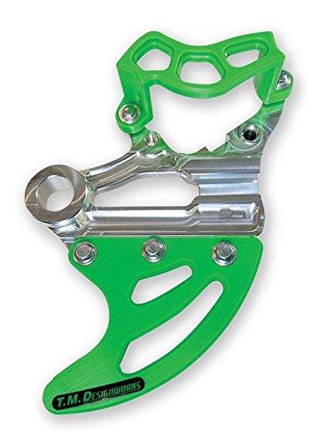 TM Designworks RDP-KXF-GR Rear Disc Guard and Caliper Kit - Green