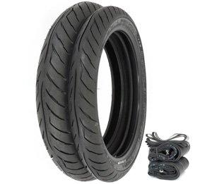 Avon Roadrider AM26 Tire Set - Honda GB500 Tourist Trophy - Tires Tubes and Rim Strips