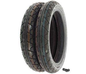 Avon Roadrider AM26 Tire Set - Honda NT650 Hawk - Tires and Valves