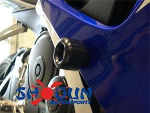 2008 - 2010 Suzuki GSXR 600 Motorcycle Frame Sliders Black
