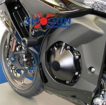 2009 - 2011 Suzuki GSXR 1000 Motorcycle Frame Sliders Black