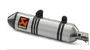 Akrapovic KTM Titanium 350  450  500 SXS Factory Slip On Silencer Exhaust
