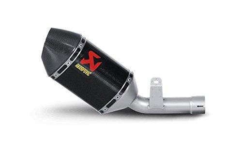 Akrapovic Slip-On - Short Hexagonal Carbon Fiber Muffler  Material Carbon Fiber S-S6S05-TC