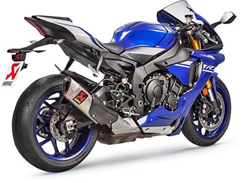 Akrapovic Titanium GP Slip-on for 2015-2017 Yamaha R1  R1M