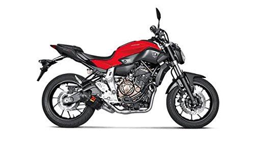 Akrapovic Yamaha FZ-07 2015 - 2016 Carbon Racing Full Exhaust System S-Y7R2-AFC