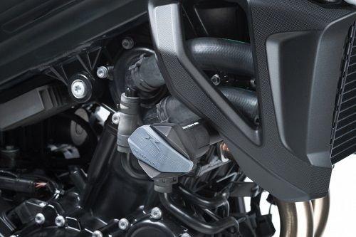 Puig Frame Sliders 2015 BMW R12 F800R Black  7707N