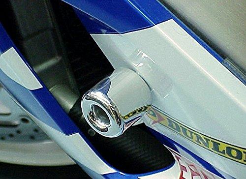 i5 Chrome No-Cut Frame Sliders for Suzuki GSXR 600 750 GSXR600 GSXR750 2000-2005