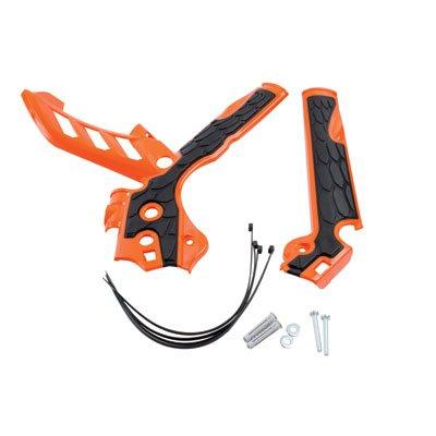 Acerbis X-Grip Frame Guards OrangeBlack for KTM 85 SX 2013-2017
