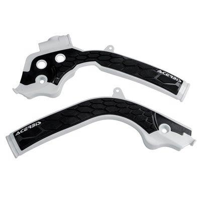 Acerbis X-Grip Frame Guards WhiteBlack for Husqvarna TE 250 2017-2018