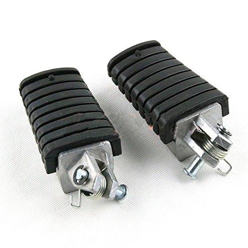 Motorcycle foot pedal Fit Yamaha XV125 XV250 XV400 XV500 XV535 XV750 XV1000 XV1100 Front Footrest