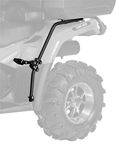New QuadBoss ATV Fender Protector  Passenger Foot Pegs - 2007-2009 Polaris Sportsman 500 EFI