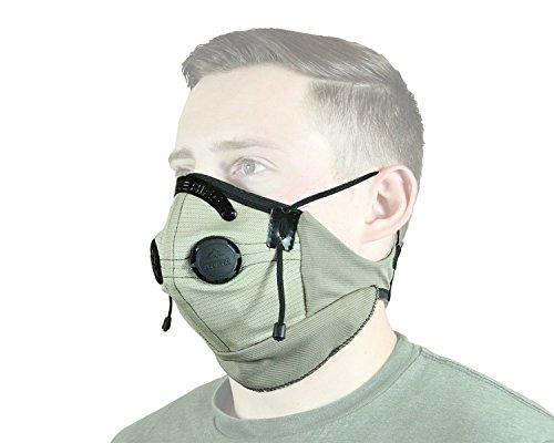 ATV Tek Pro Series Rider Filtered Dust Mask TanBlack Universal